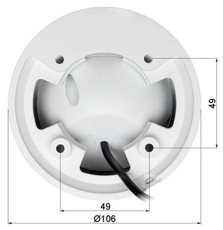 KAMERA WANDALOODPORNA AHD, HD-CVI, HD-TVI, PAL DH-HAC-HDW1230EMP-A- 0280B - 1080p 2.8mm DAHUA
