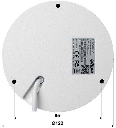 KAMERA WANDALOODPORNA IP DH-IPC-HDBW2421RP-VF S 4.0Mpx 2.7... 12mm DAHUA