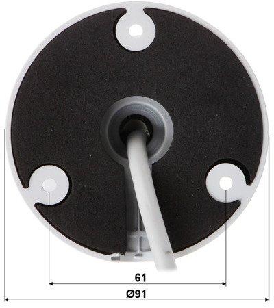KAMERA WANDALOODPORNA IP DH-IPC-HFW4431TP-ASE -0360B - 4.0Mpx 3.6mm DAHUA