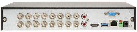 REJESTRATOR AHD, HD-CVI, HD-TVI, CVBS, TCP/IP BCS-XVR1601-III 16 KANAŁÓW