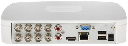REJESTRATOR HD-CVI, PAL, TCP/IP DHI-HCVR5108C-S3 8 KANAŁÓW DAHUA